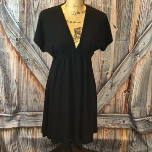 Mossimo black terry cover up